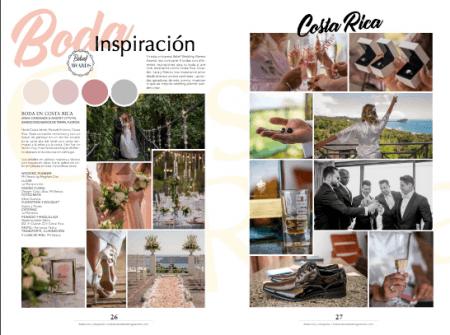 Costa Rica Wedding Design Inspiration Featured in Nuevo Novio Magazine in Mexico