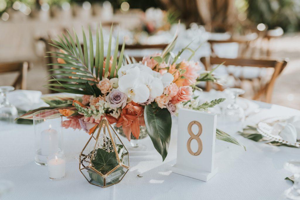 Tropical Flowers Costa Rica Wedding