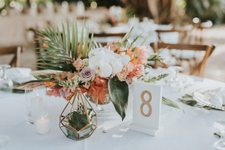 Tropical Flowers Costa Rica Wedding