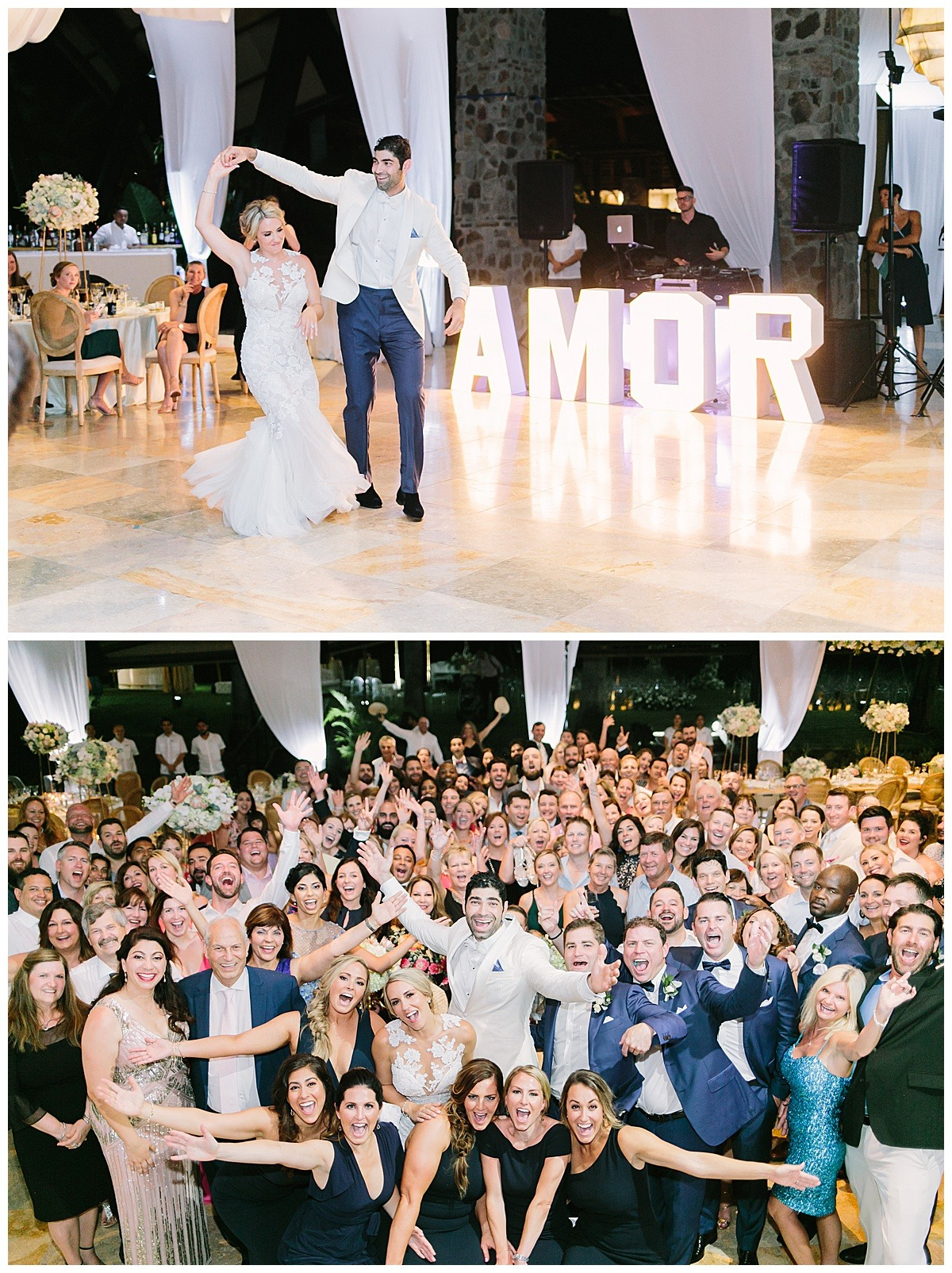 dancing by the amor love sign letters