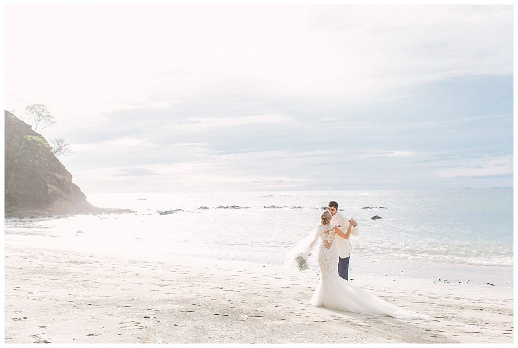 Brooke and Shahin Wedding Four Seasons Costa Rica Virador Beach