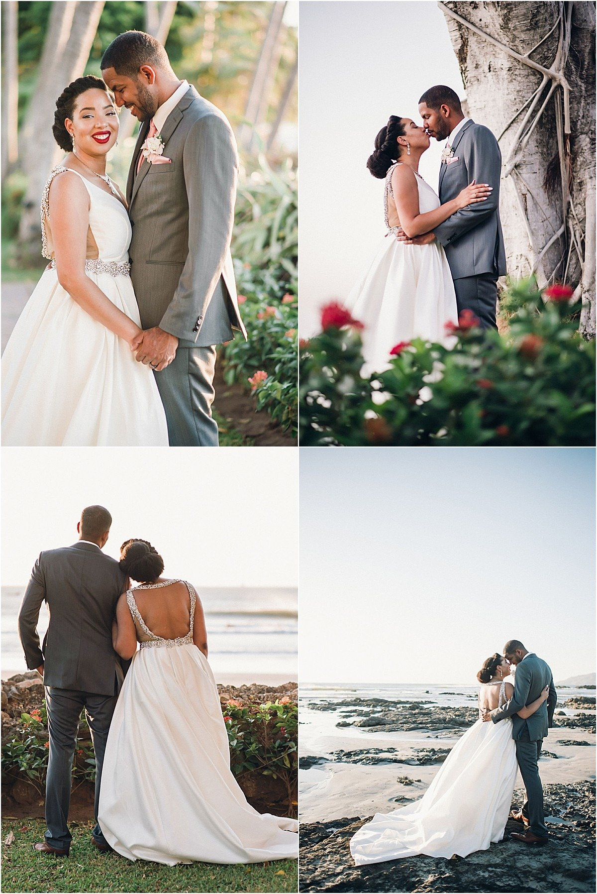 couple shoot by the diria tamarindo