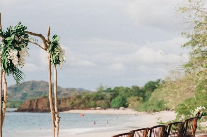 Barefoot Wedding in Conchal Beach video