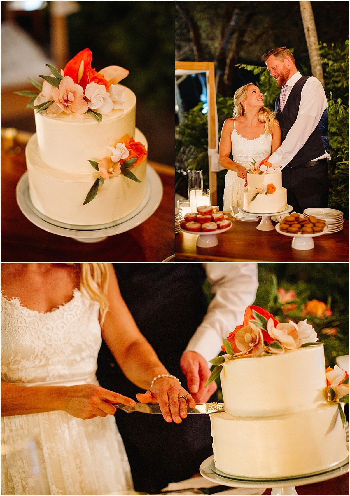 cake cutting langosta beach club