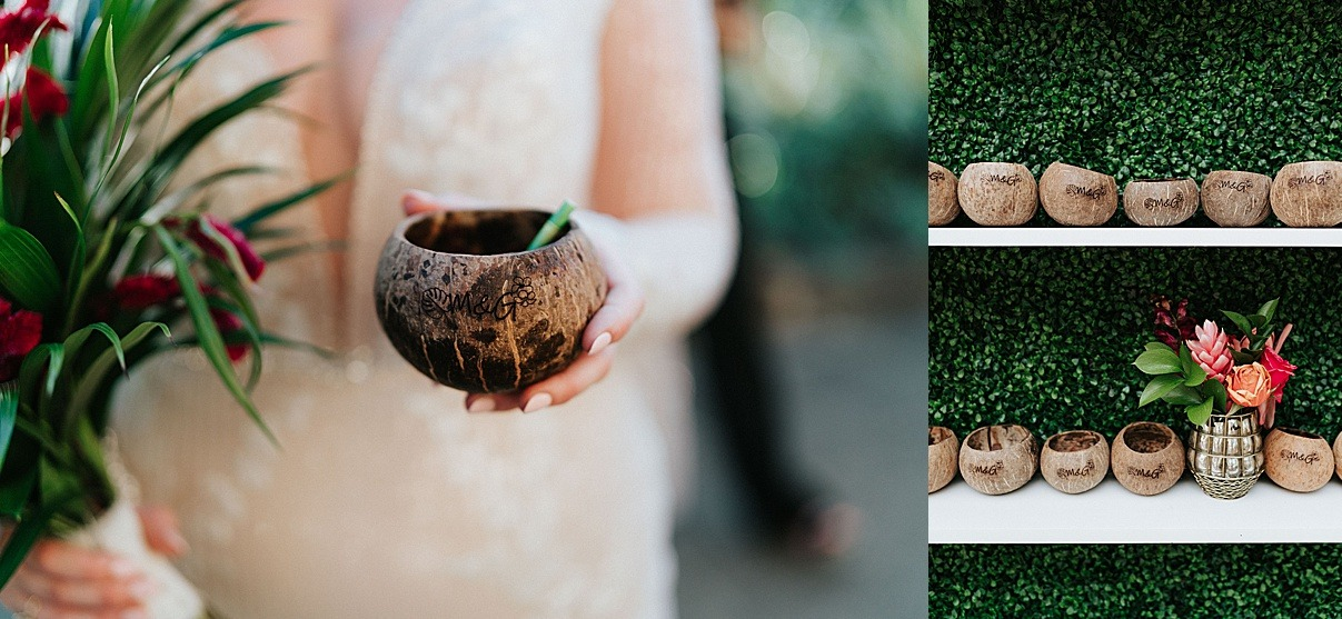 coconuts custom love welcome