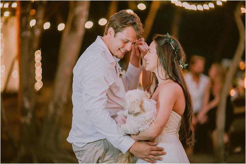 Wedding Day Playlist Ideas dancing with doggie first dance