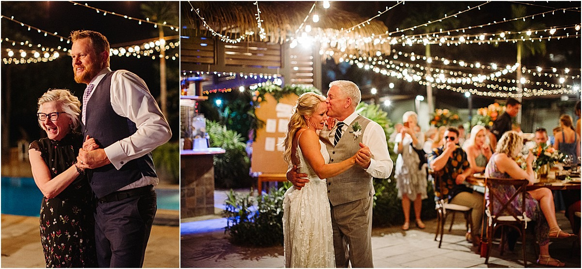 first dance with the family mother son