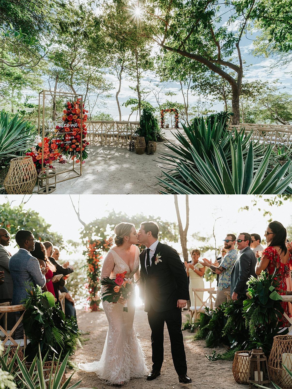 kissing ceremony i do catalinas costa rica