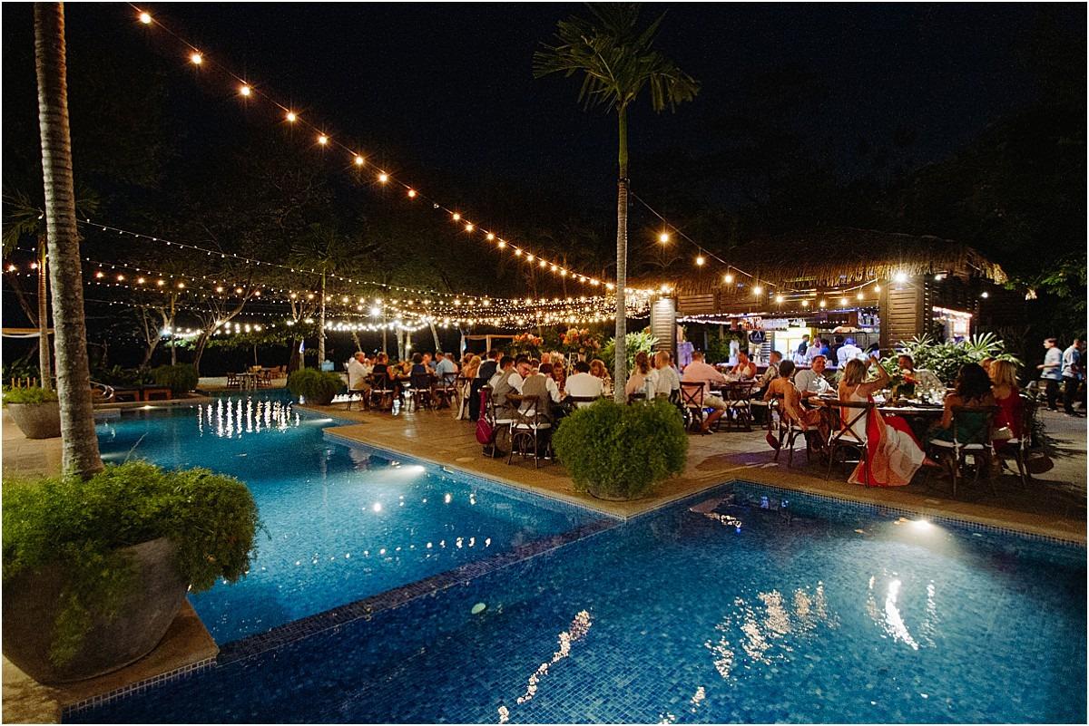 nighttime venue langosta beach club