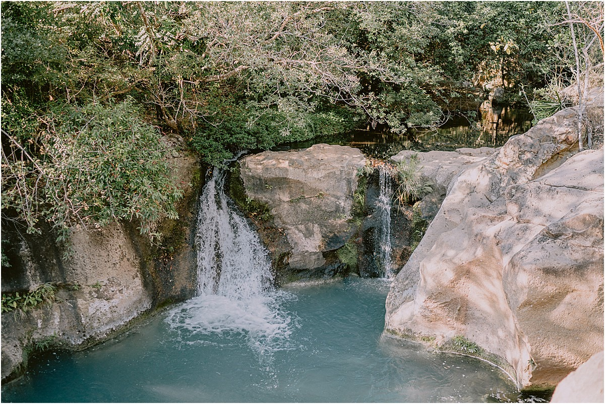waterfall wedding in costa rica national park planning
