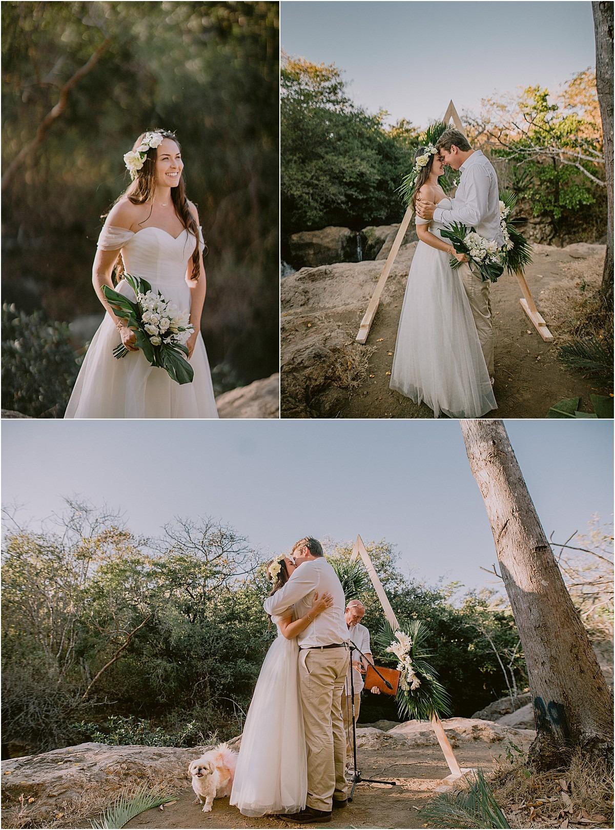 wedding modern arch triangle