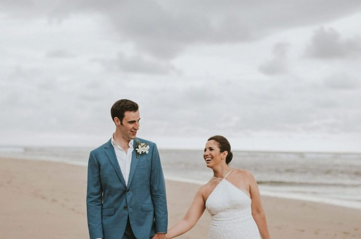 beautiful beachfront wedding