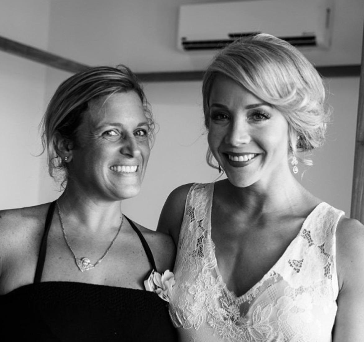 sol with a bride