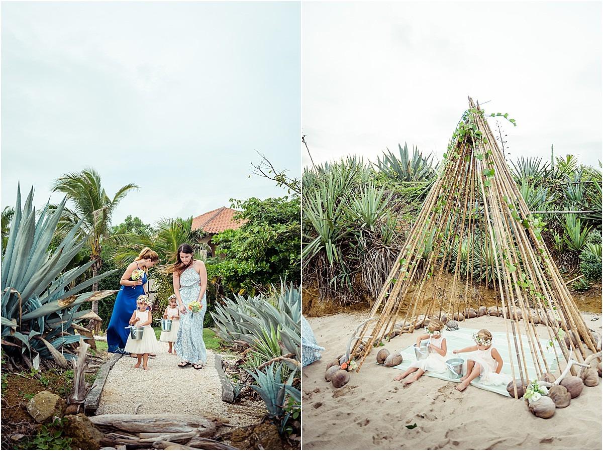 beach elope in costa rica cr
