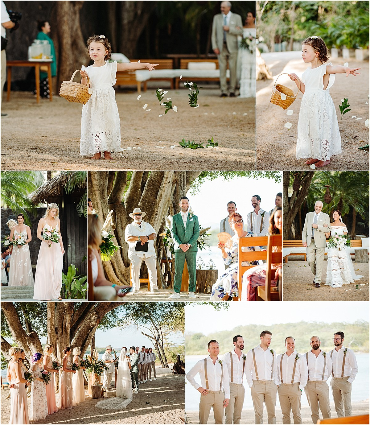 bridal groomsmen wedding party