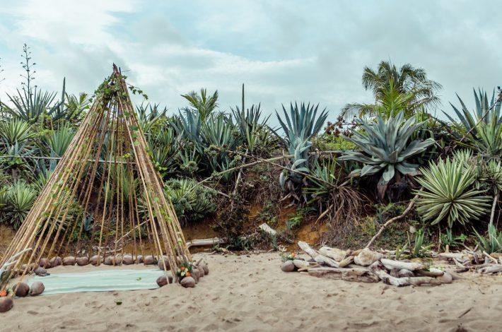 costa rica playa negra elopement