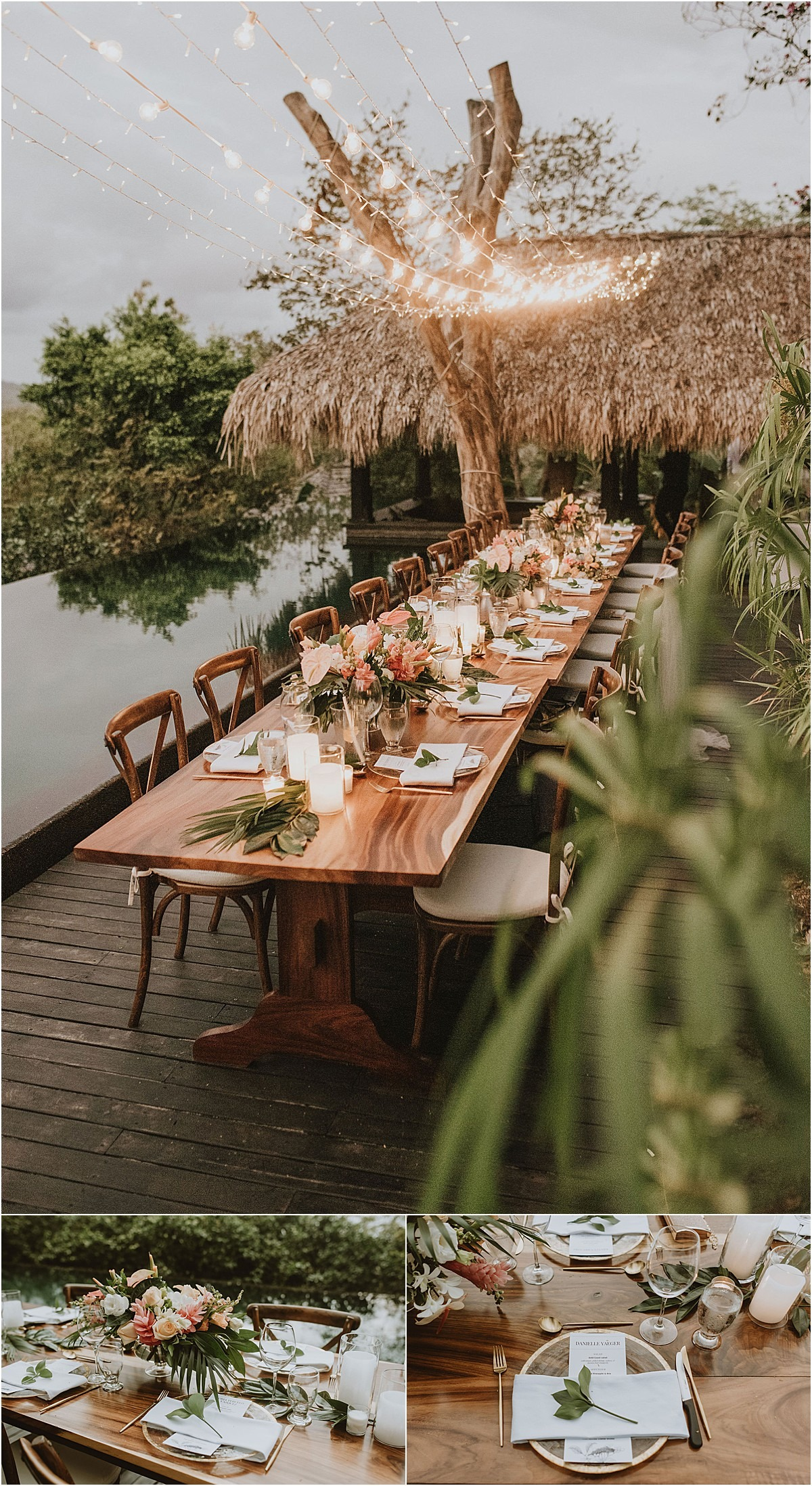 decor design tamarindo el cahnte wedding