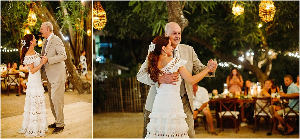 father daughter dance in pangas
