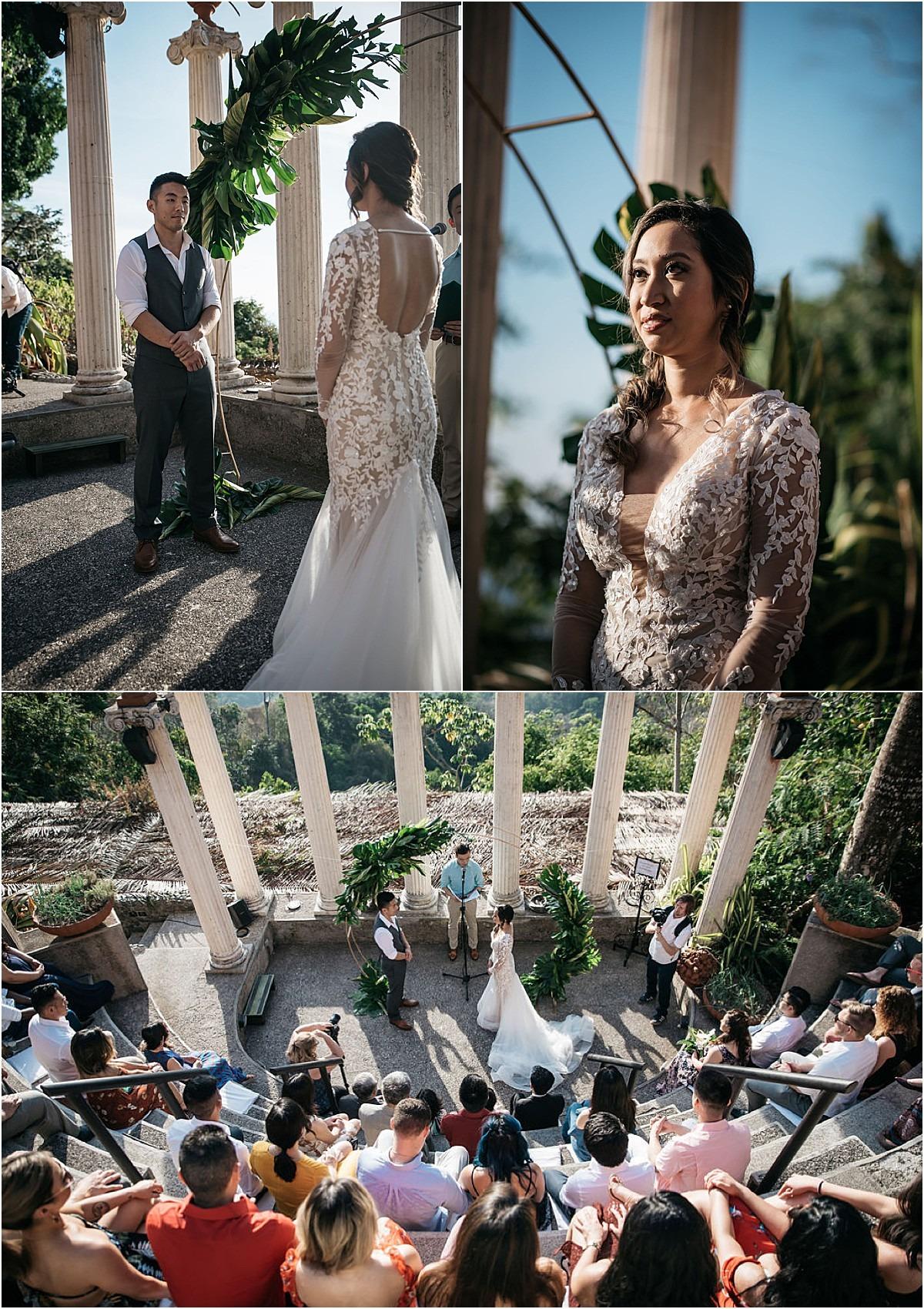 vows ceremony villa caletas
