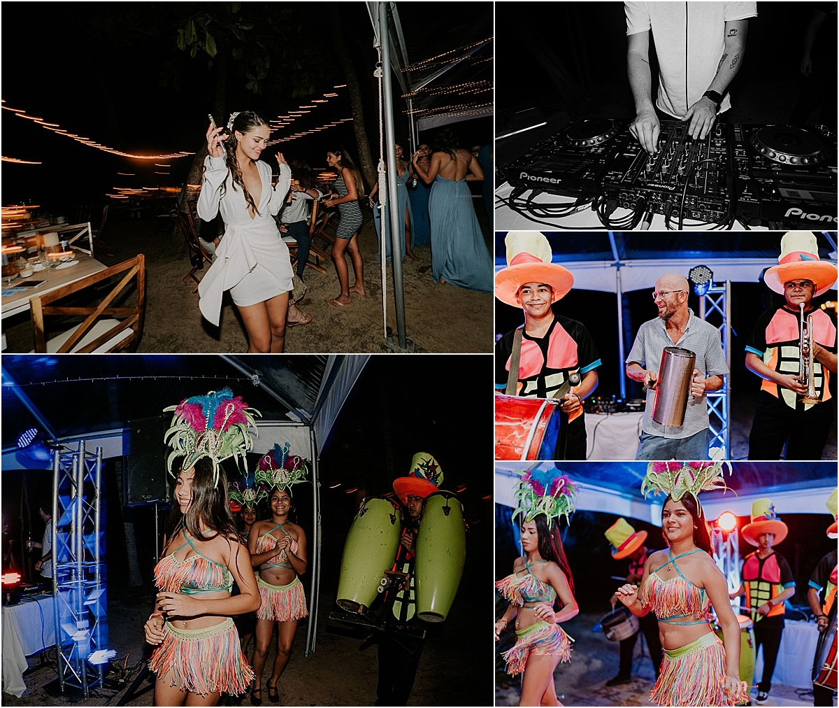Carnivale is a group of singers dance
