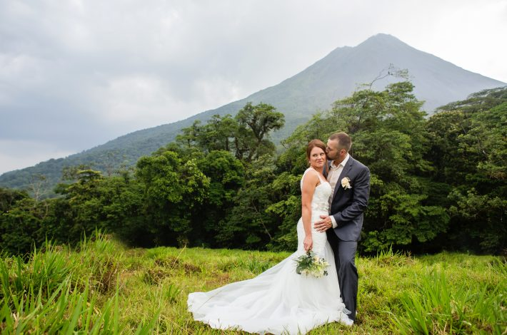 Elopement in La Fortuna Costa Rica