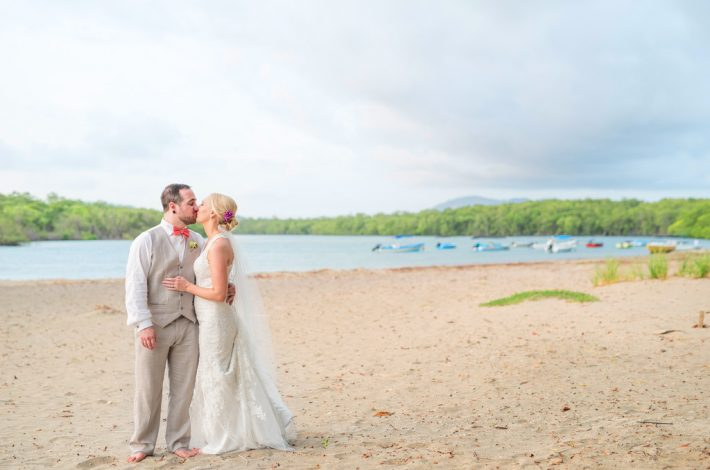 Intimate Tropical Wedding beach