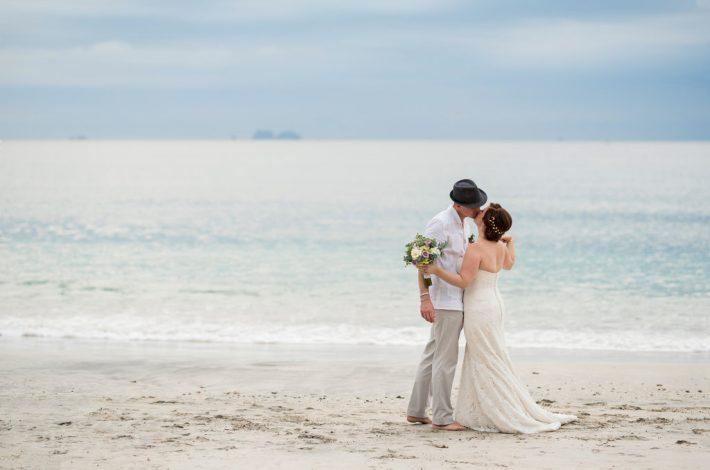Simple Playa Conchal Wedding