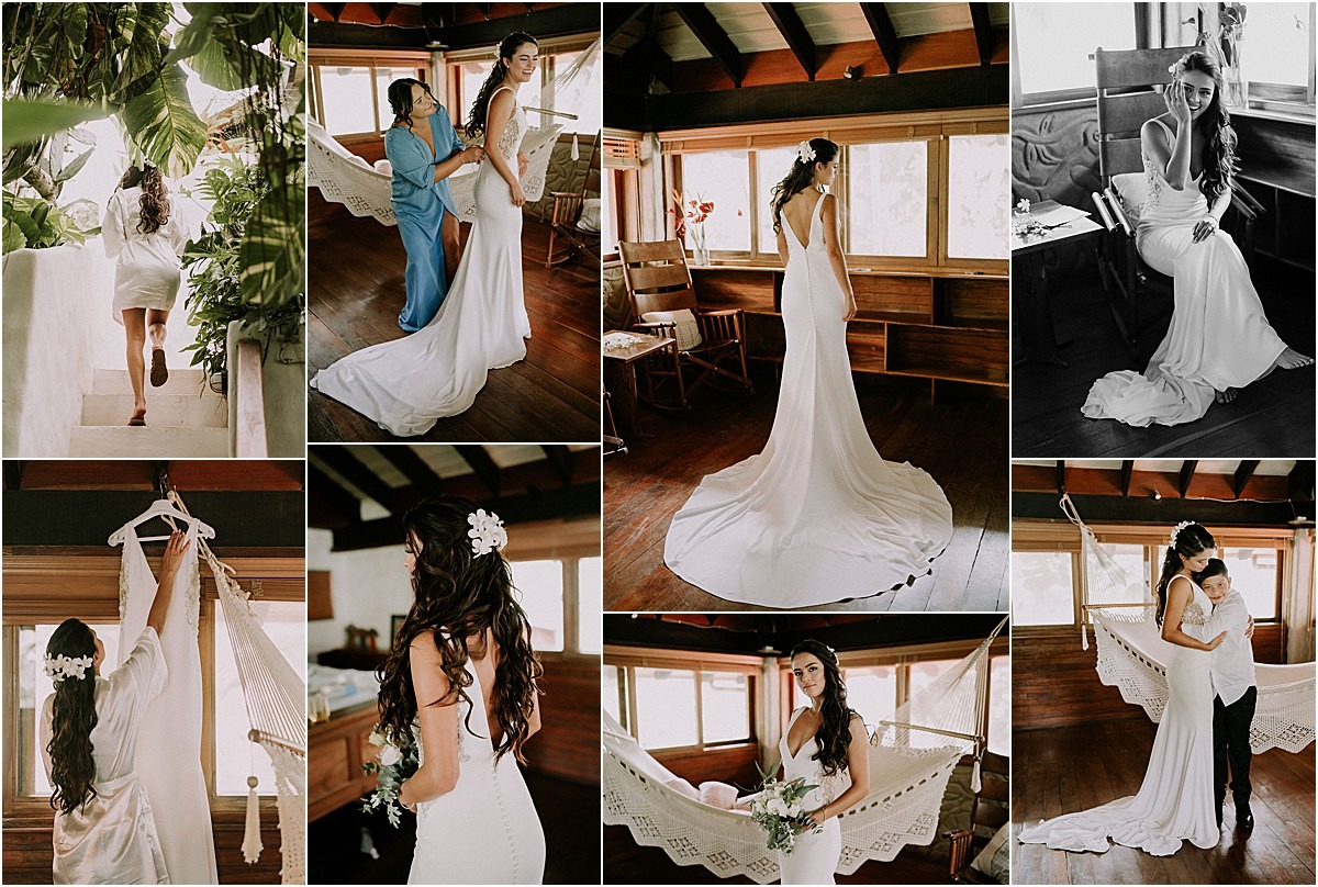 bridal gown in costa rica