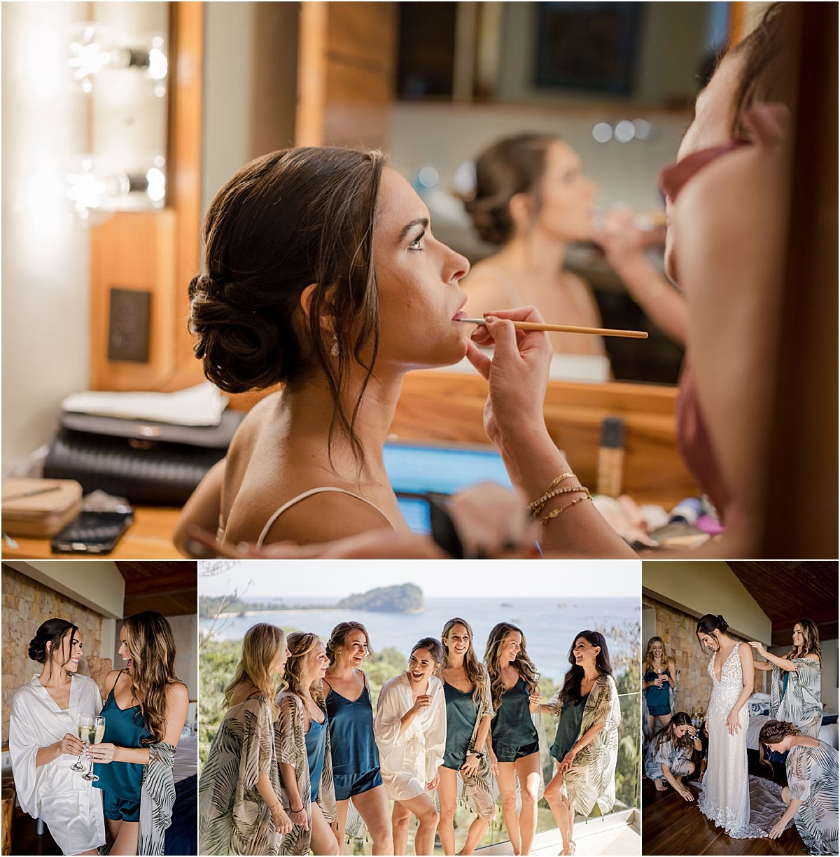bridal morning make up lip liner