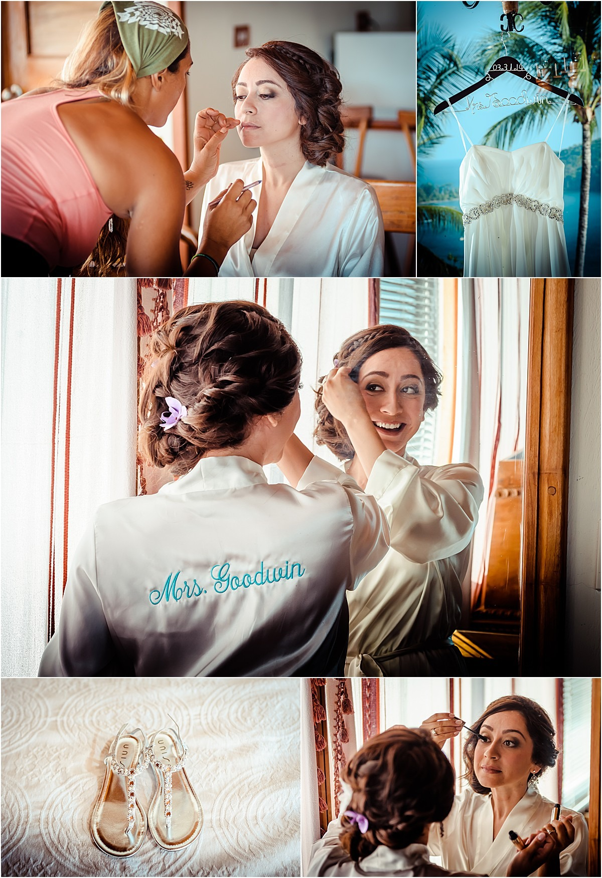 bridal morning robe dress ma costa rica