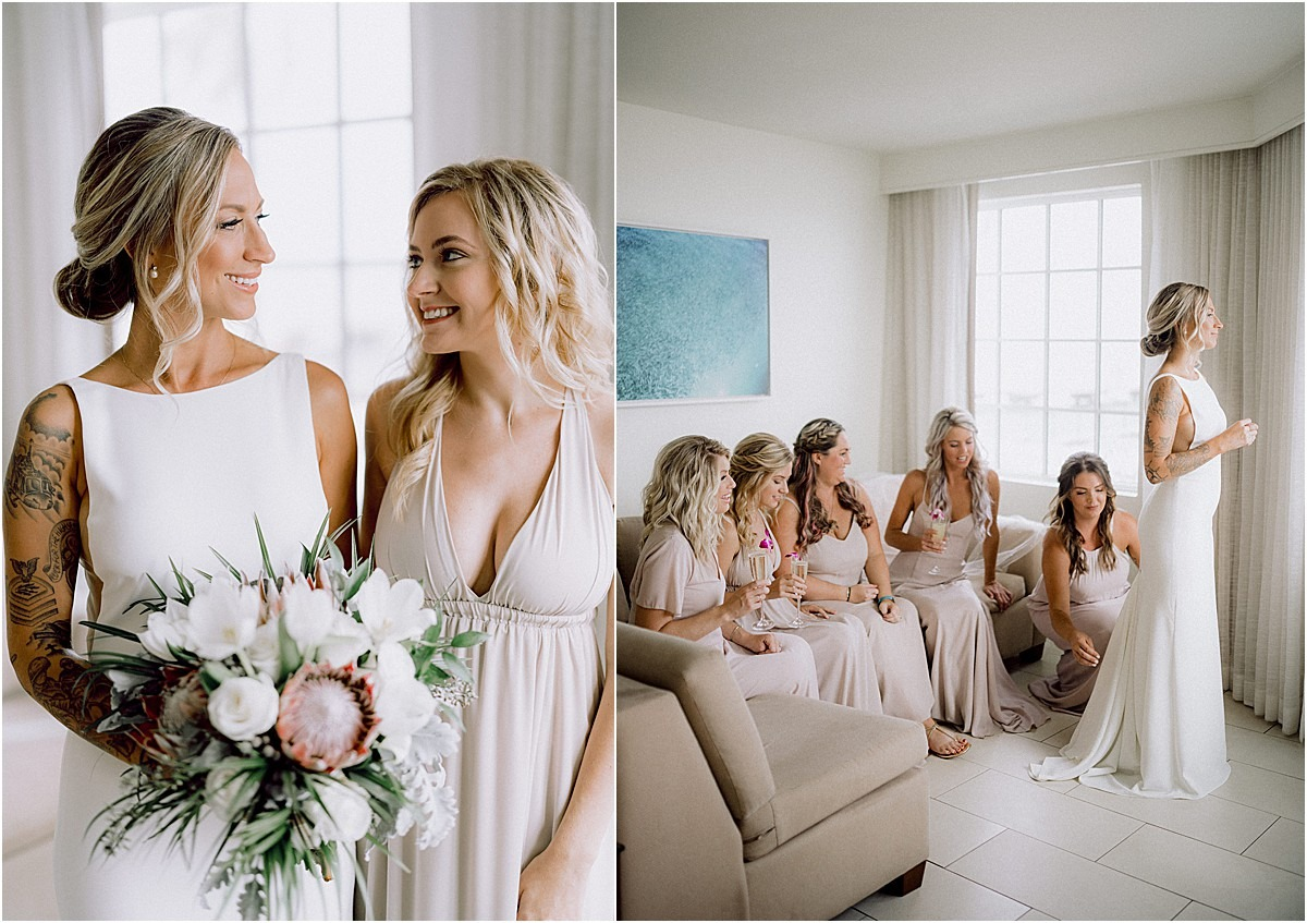 bridesmaids in flordia keywest