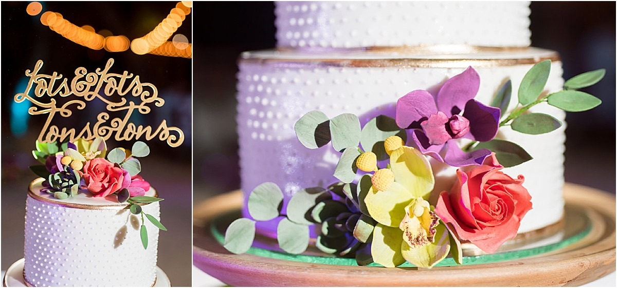 cake details topper white