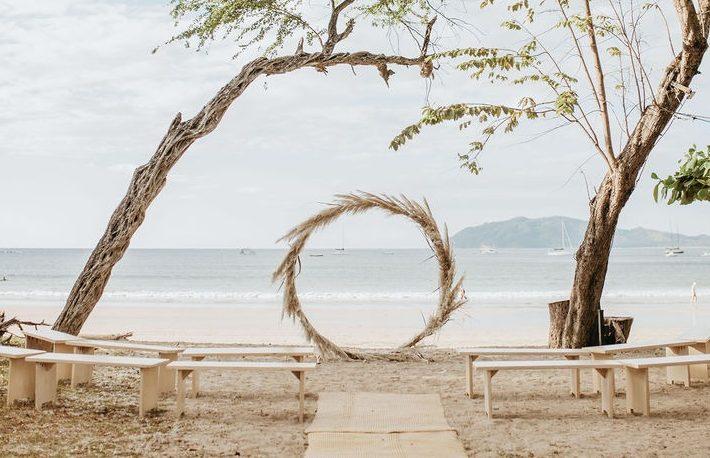 boho barefoot beach wedding langosta beach