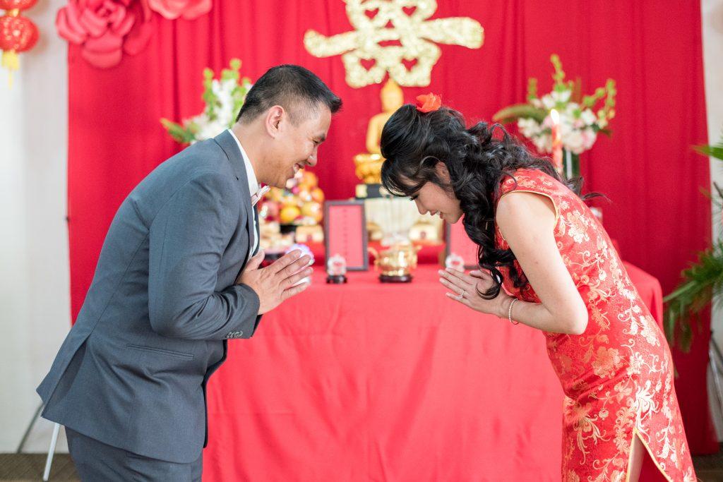 Chinese traditions wedding in tamarindo costa rica