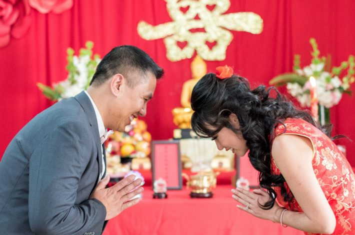 Chinese traditions wedding in tamarindo costa rica