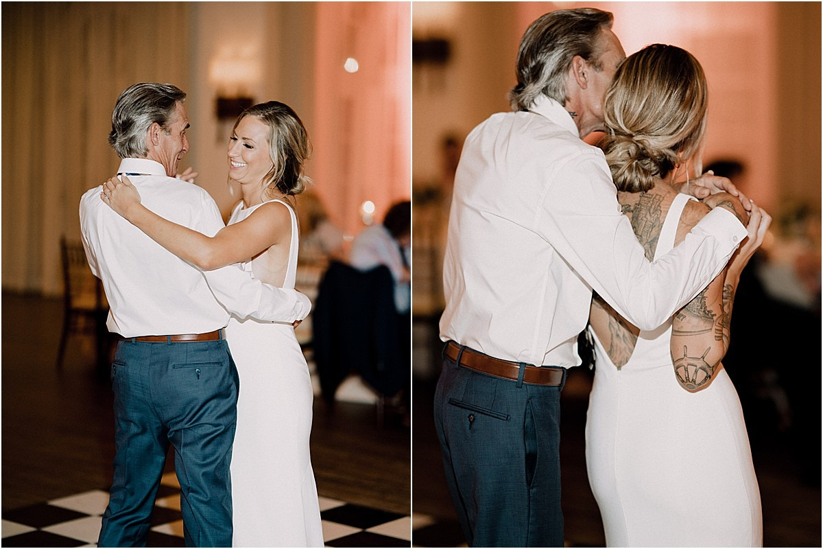 dance with dad in flordia reception venue