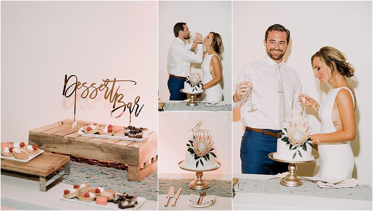 dessert table sweet cake