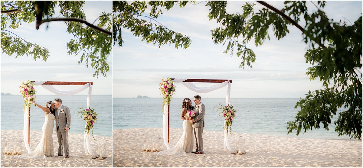 elopement ceremony on the beach