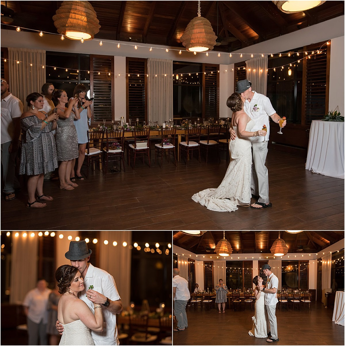 first dance on the hardwood venue
