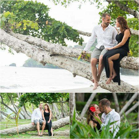 La Fortuna beach Wedding photographer