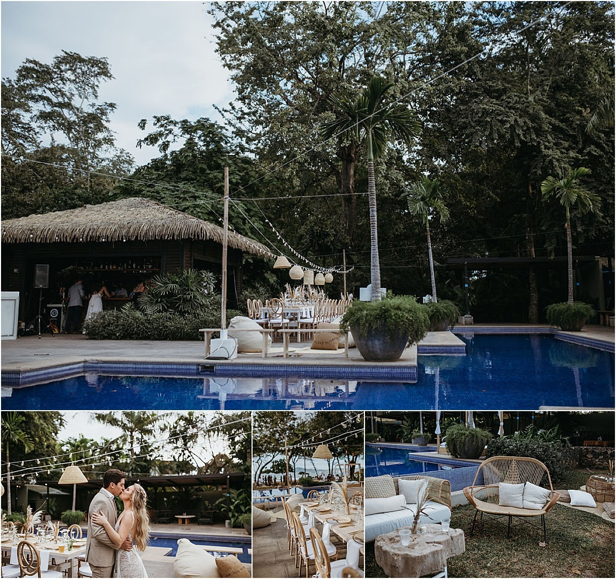 langosta beach club pool venue cr