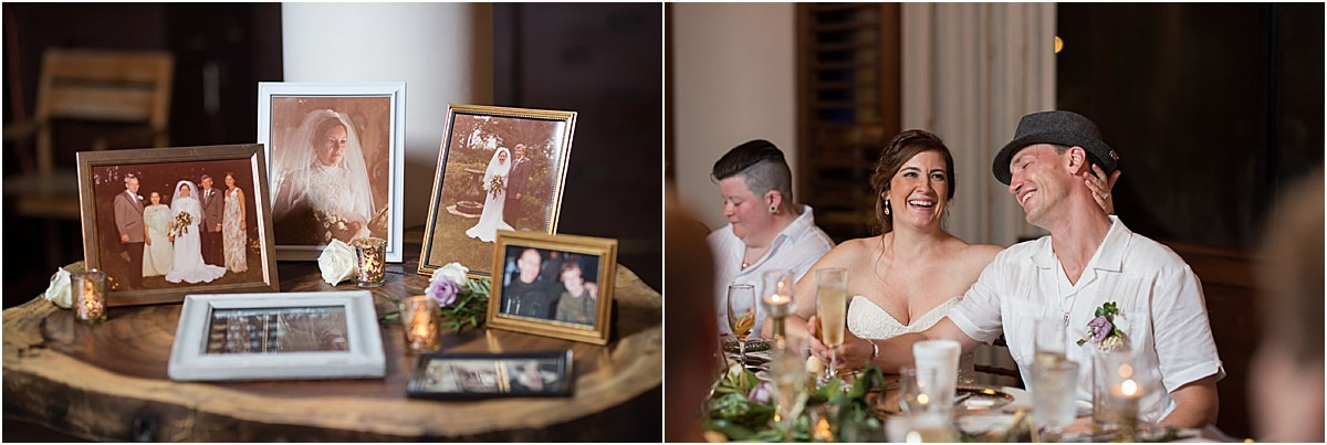 old photos for wedding reminder