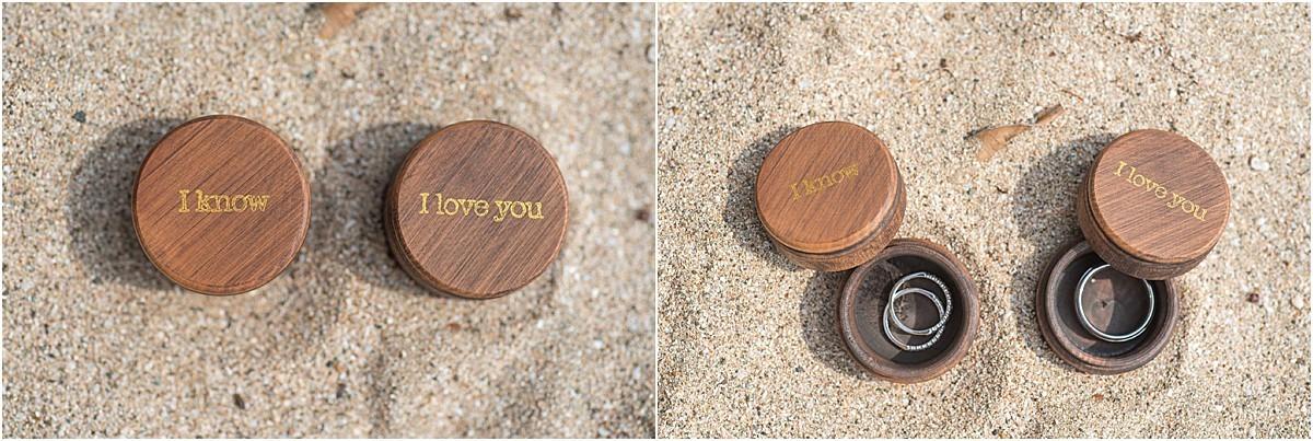 ring holder custom star wars quote