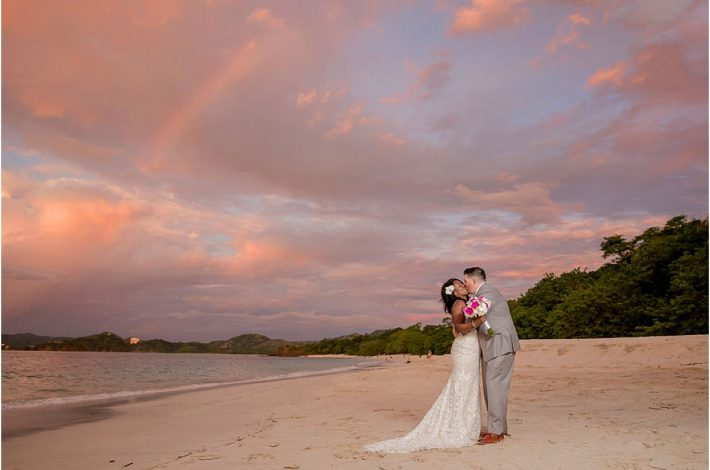 Westin Conchal beach elopement