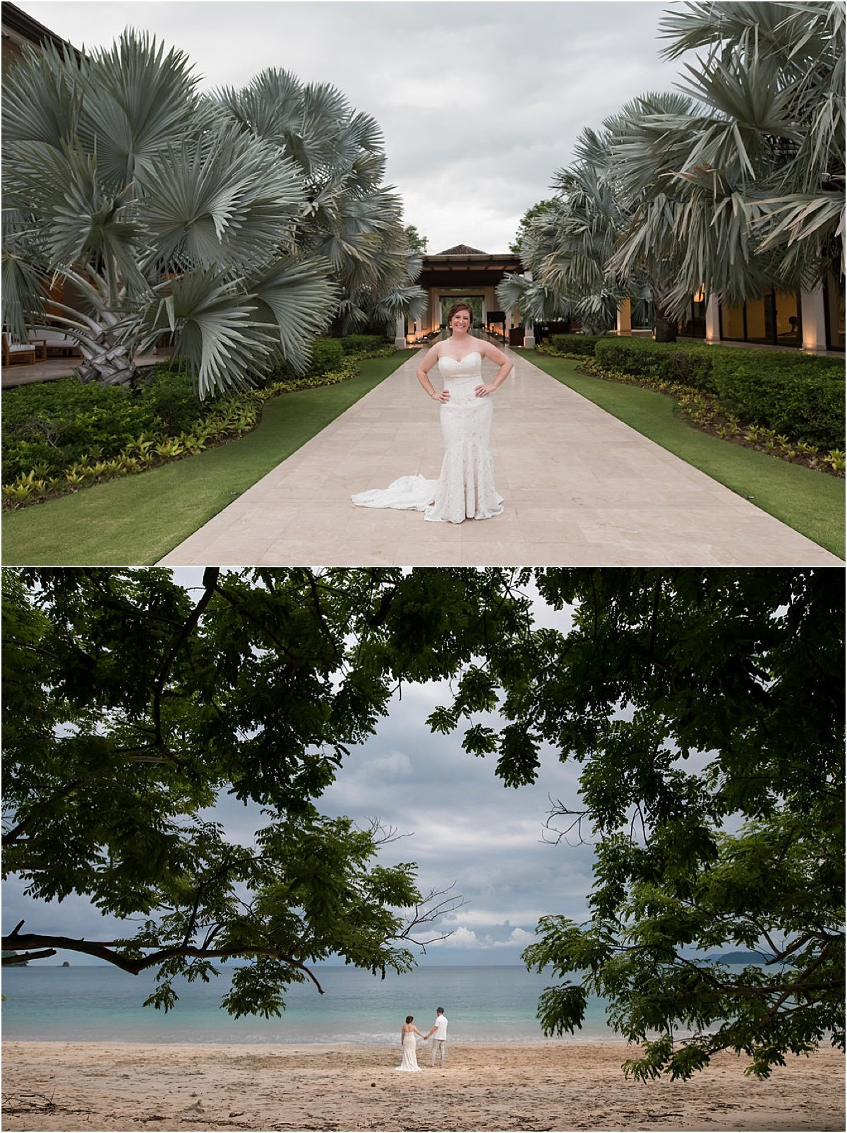 villa venue gazebo walk beach