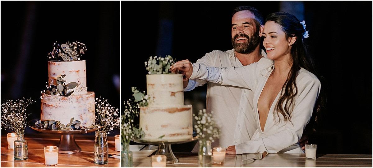 wedding cake sueno del mar