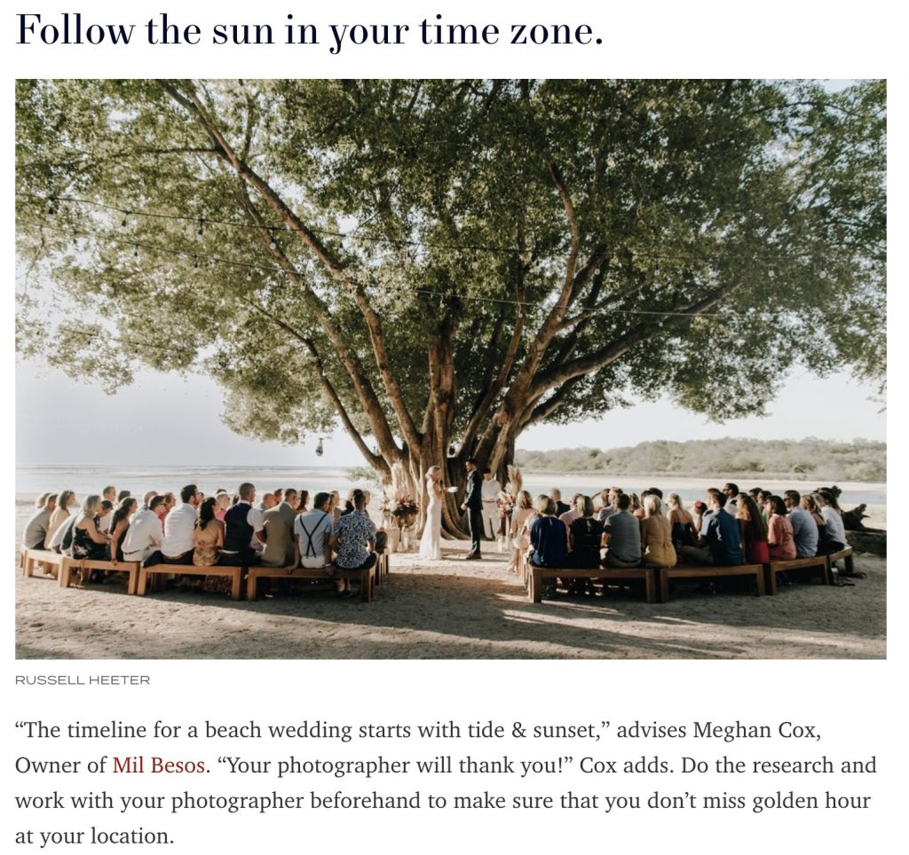 Tips for Throwing a Destination Wedding