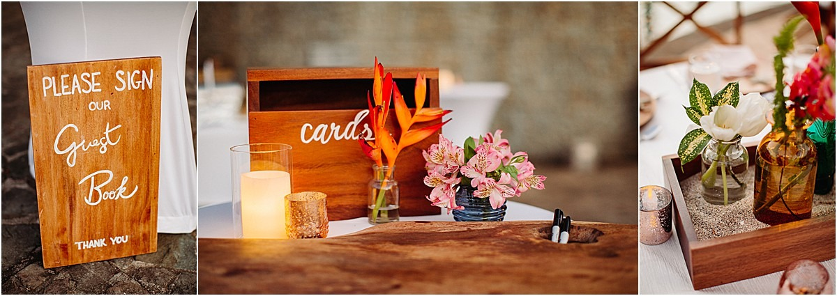cards and guest book idea