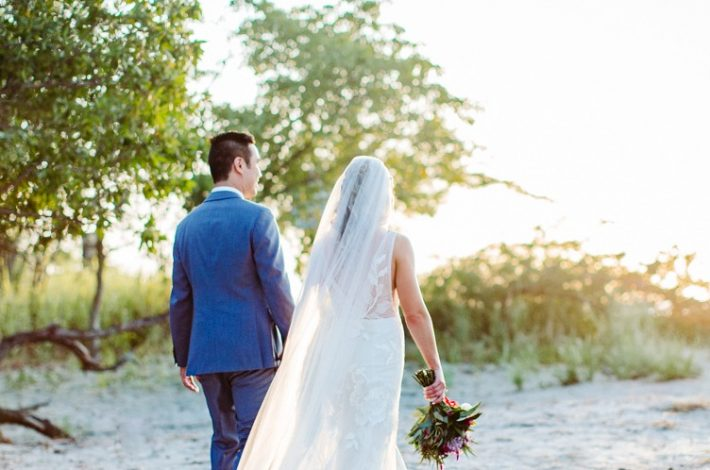 playa tamarindo dream wedding Intimate Costa Rican Beach Wedding In the Press