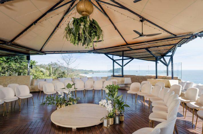 punta de vista wedding view ceremony